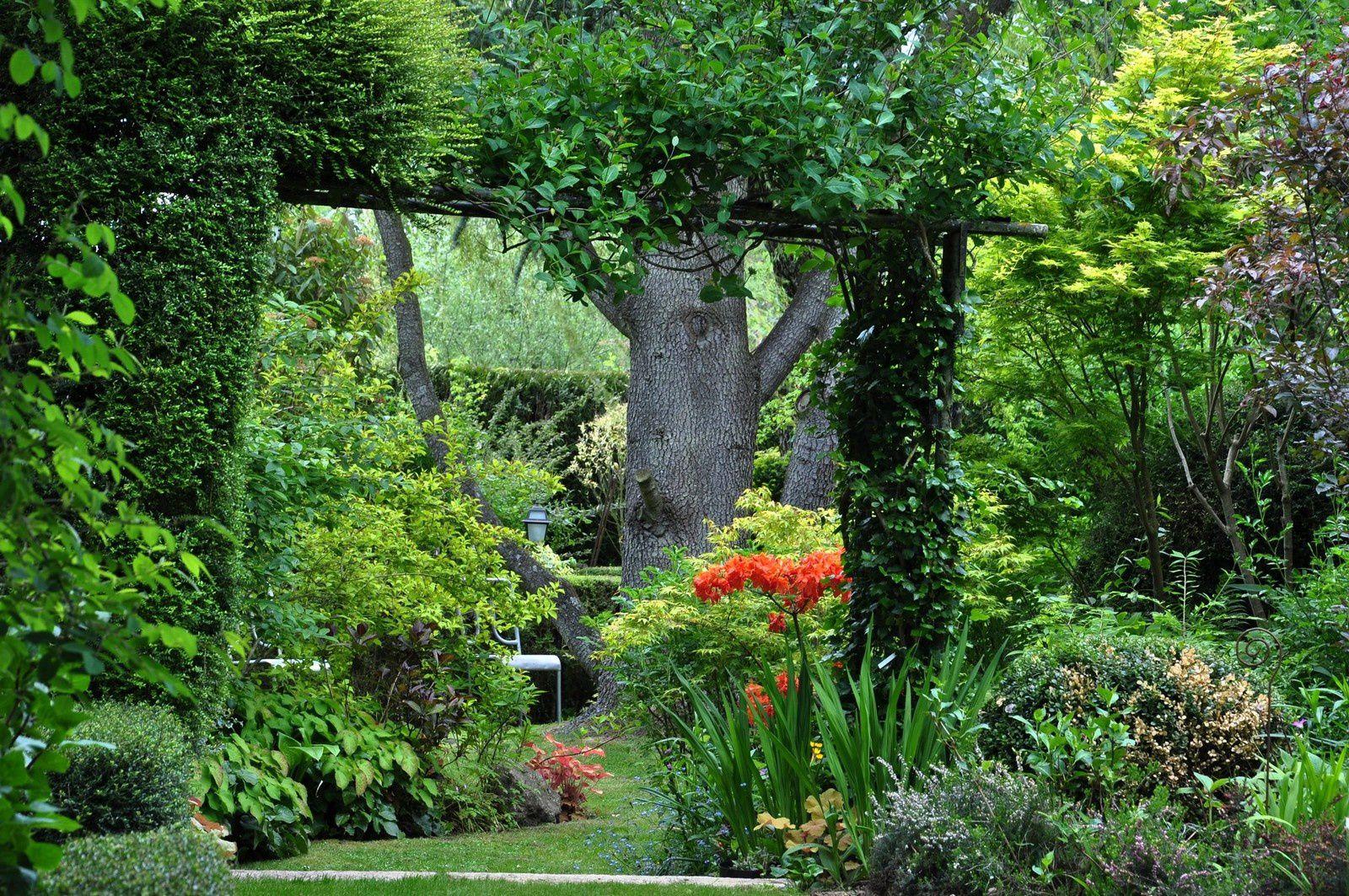 Le jardin du Coudray, un dédale sans minotaure mais avec un ténor !