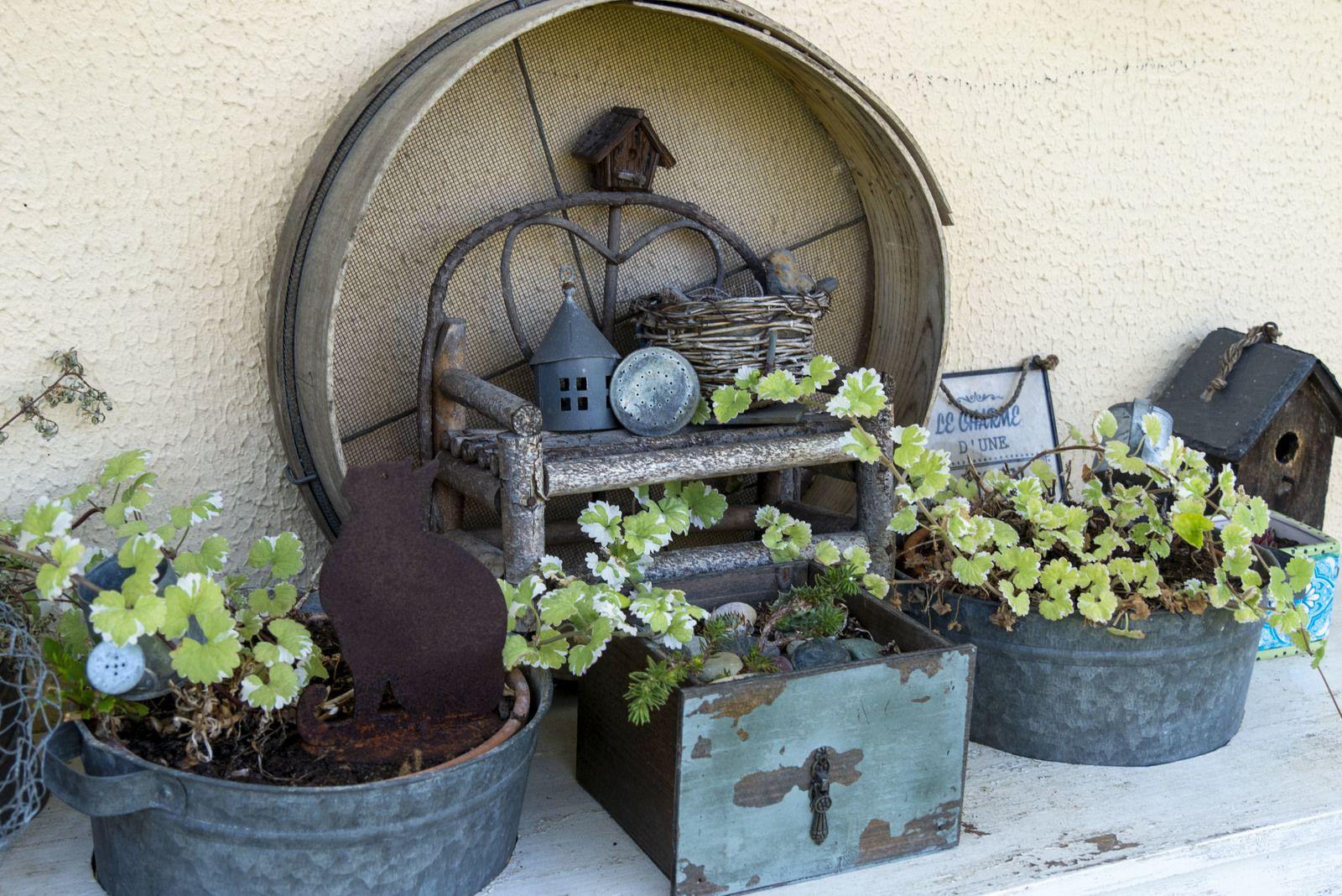 Un jardin comme un petit théâtre