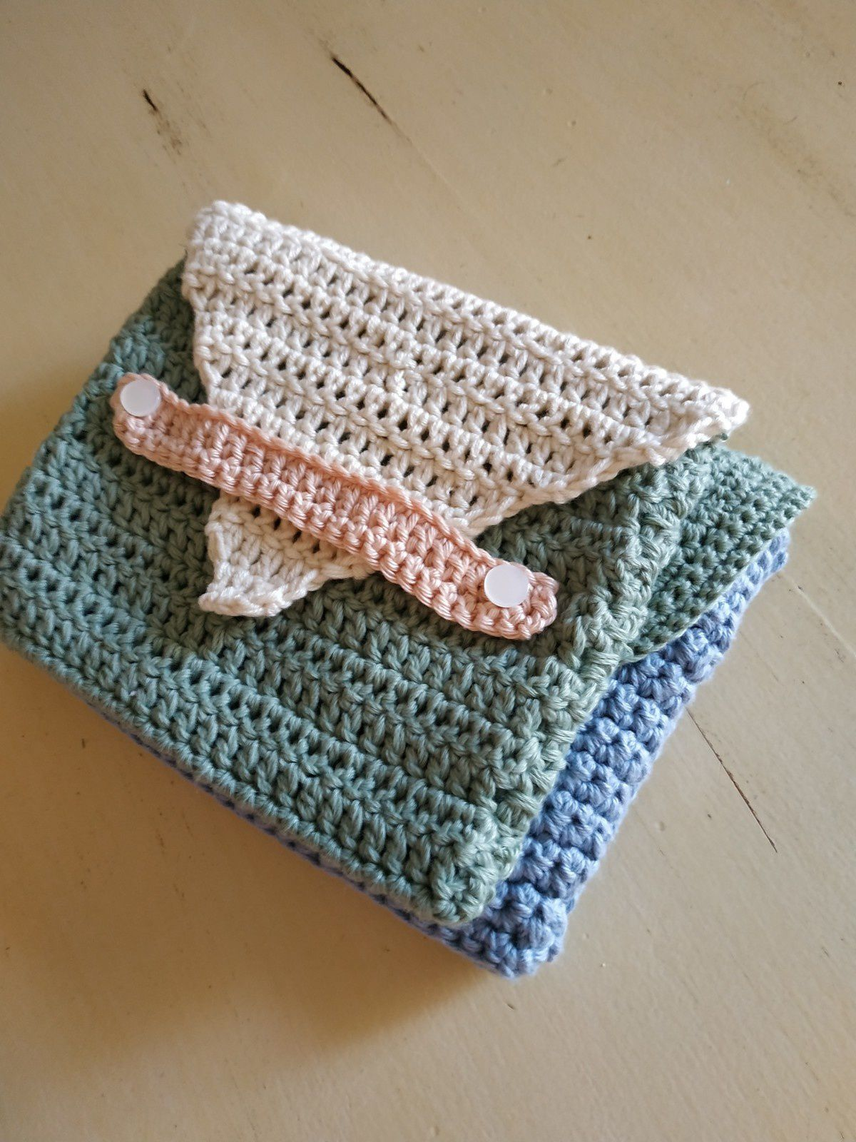 Pochettes au crochet