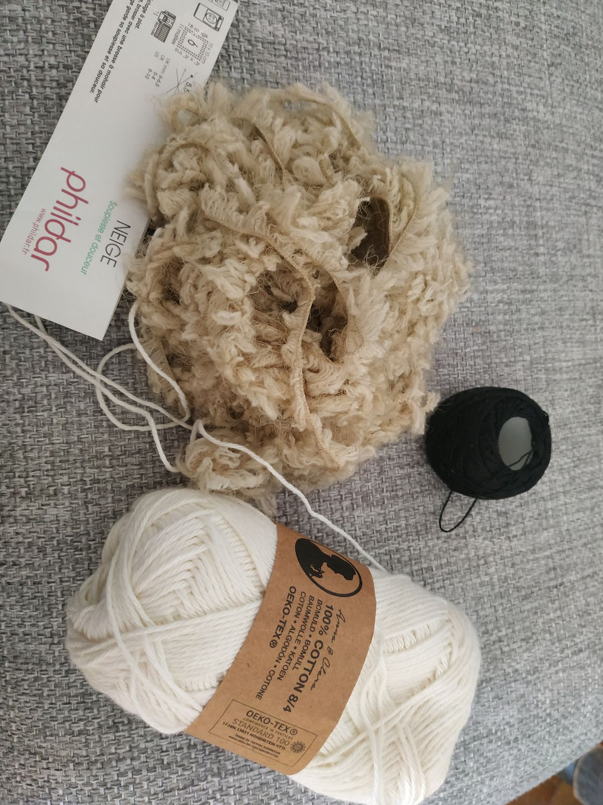 Mouton au crochet
