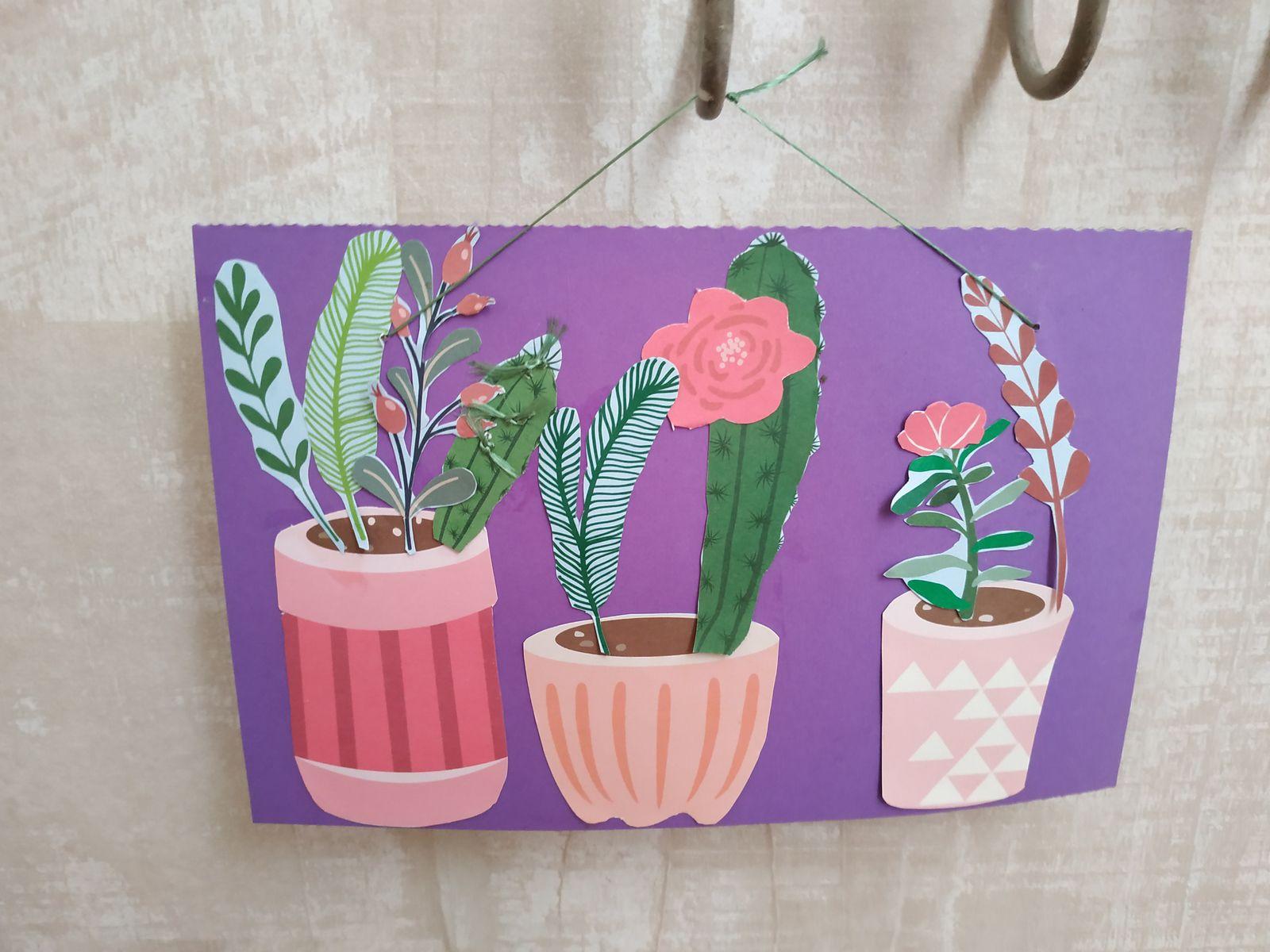 Jardin de Cactus en papier