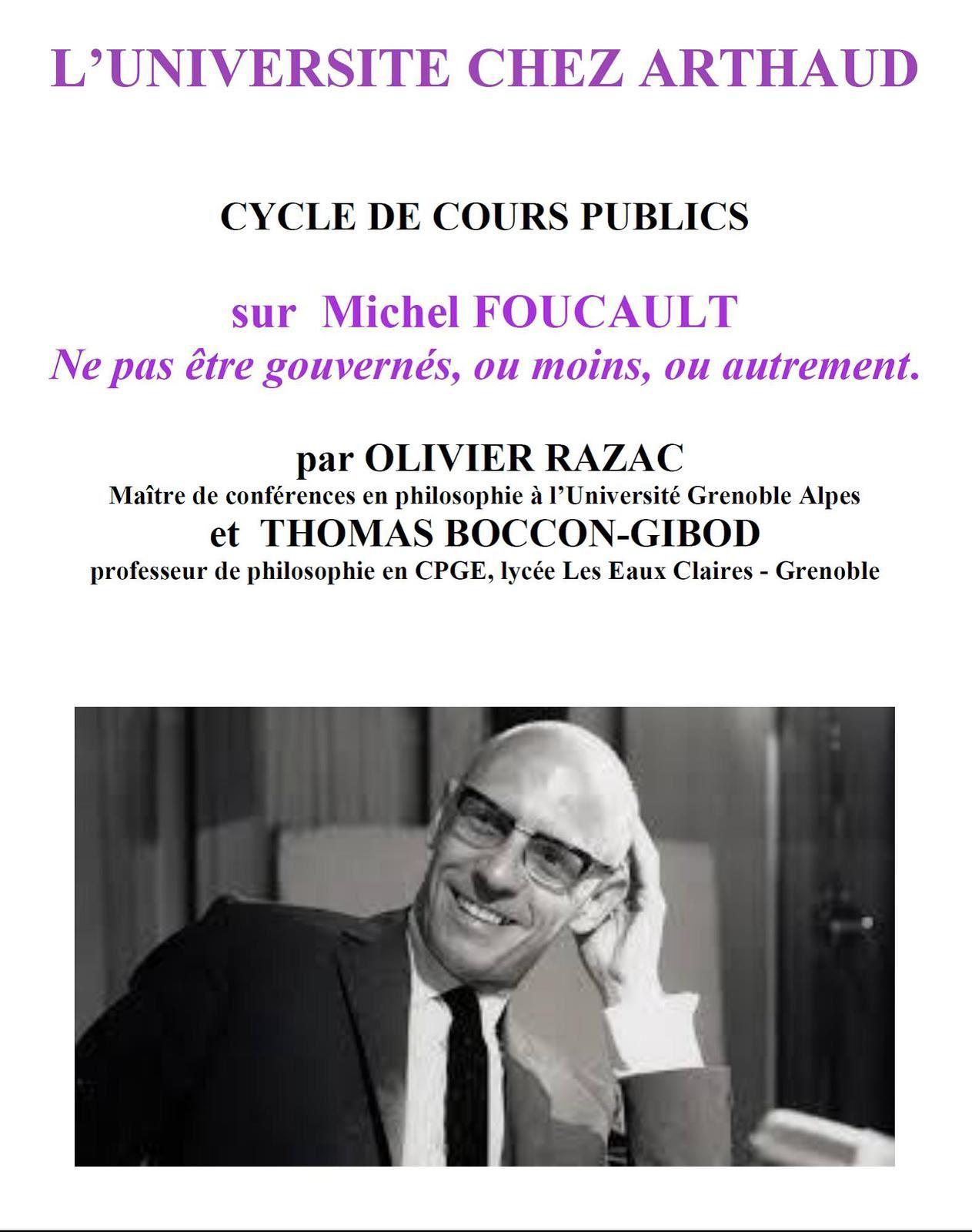 Cours publics - Michel FOUCAULT