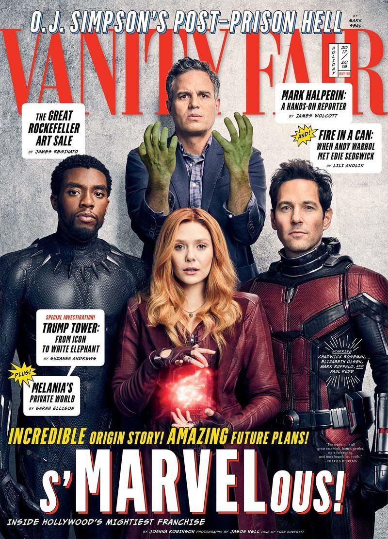 Avengers Infinity War_Couverture 1