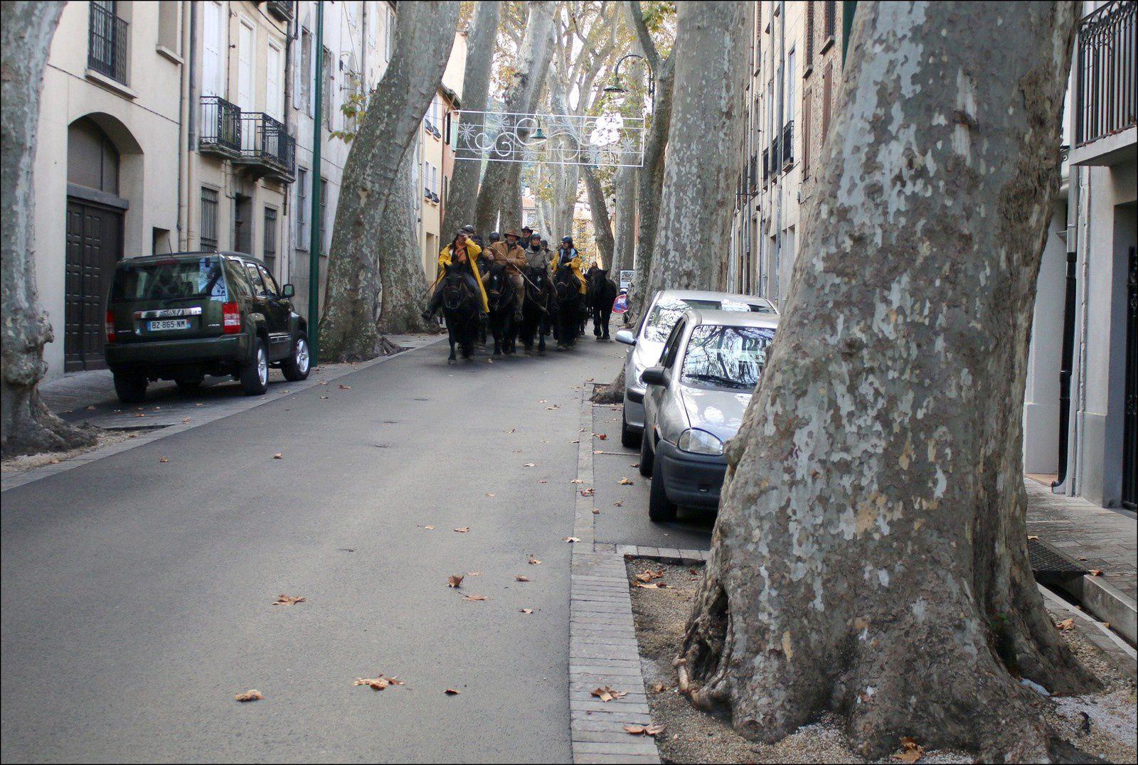 Dans les rues de Céret...