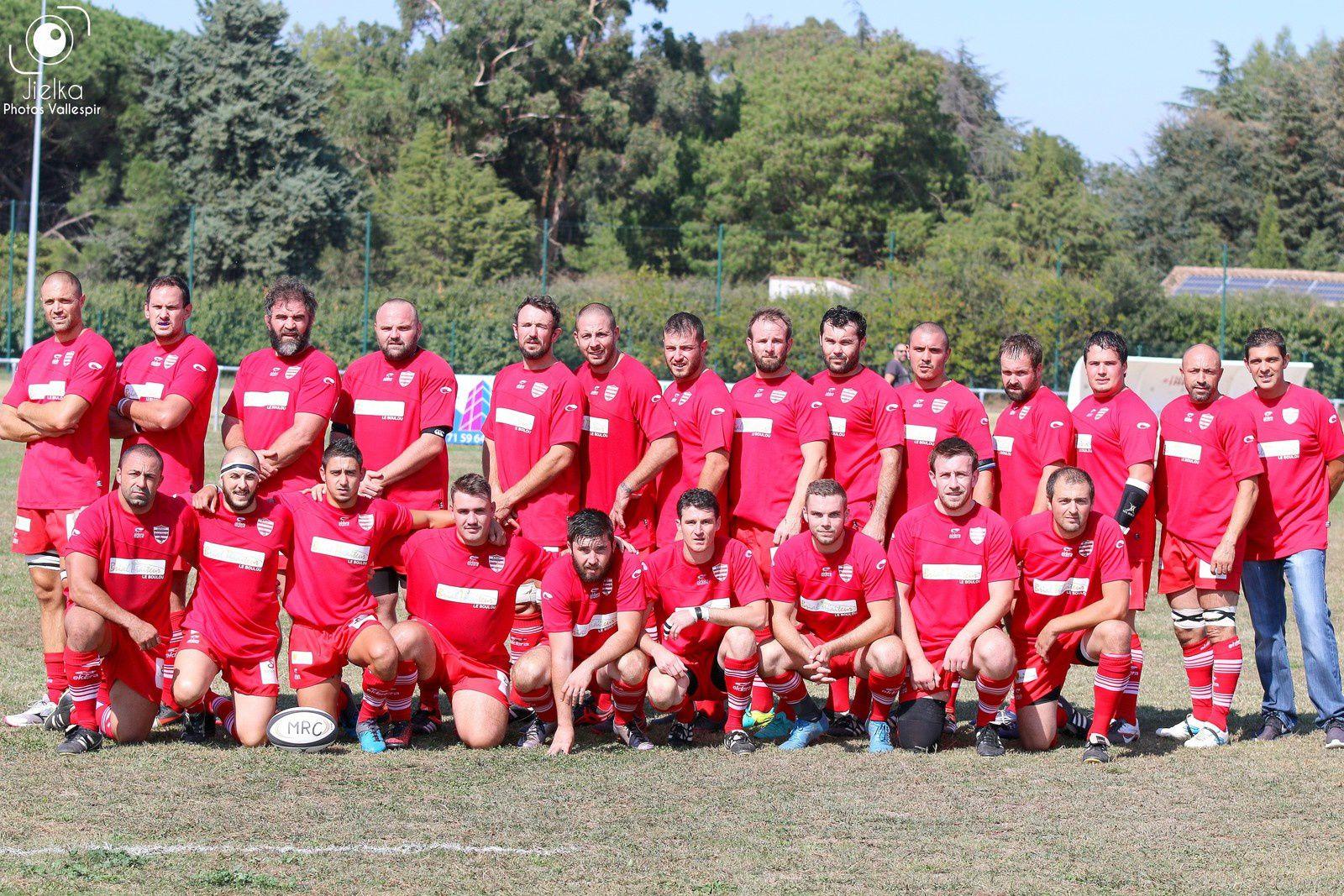 MAUREILLAS RUGBY CLUB (le 1er match)
