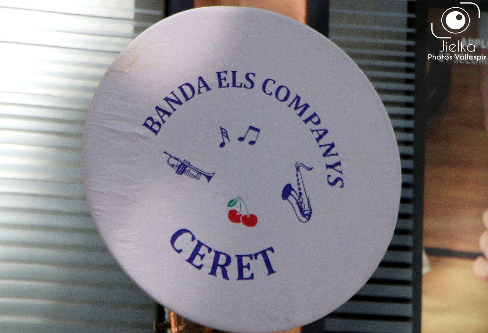 CÉRET, EN ATTENDANT LA FÊTE DE LA CERISE AVEC ELS COMPANY'S.
