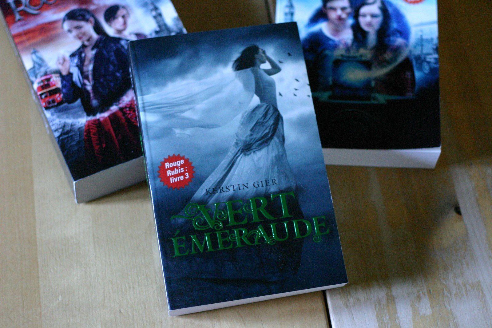 Rouge Rubis, Bleu Saphir et Vert Emeraude - Kerstin Gier