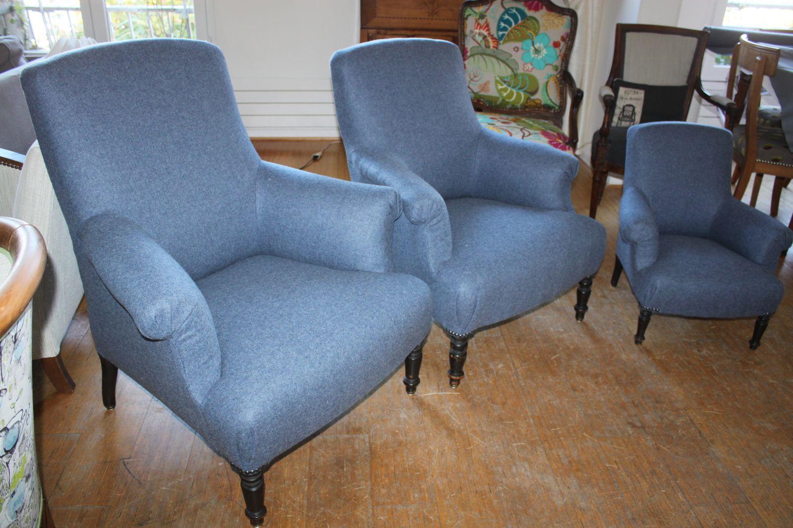 Les trois fauteuils des ours de Boucle d'or