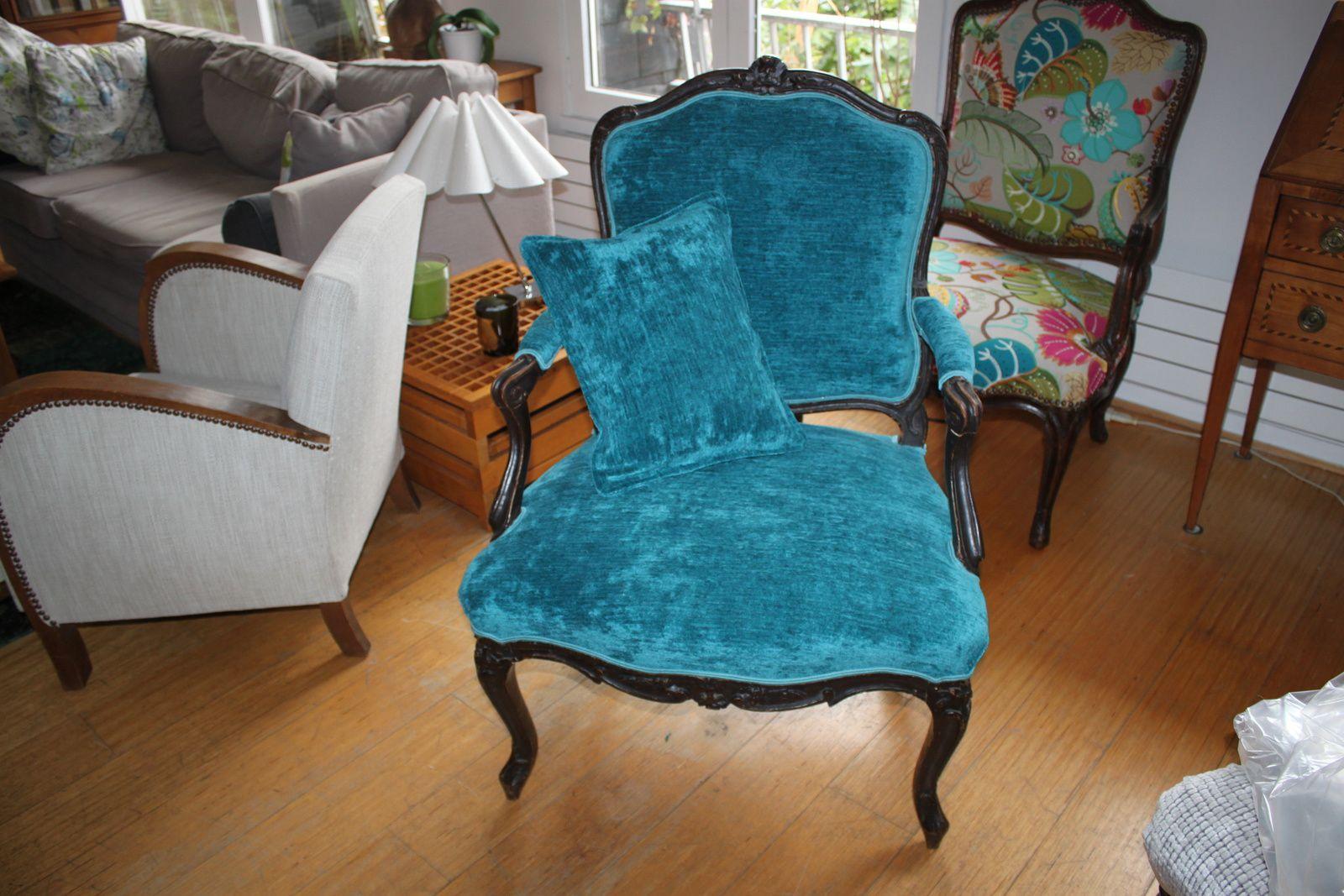 """fauteuils """"à la reine""""  époque Louis XV"""