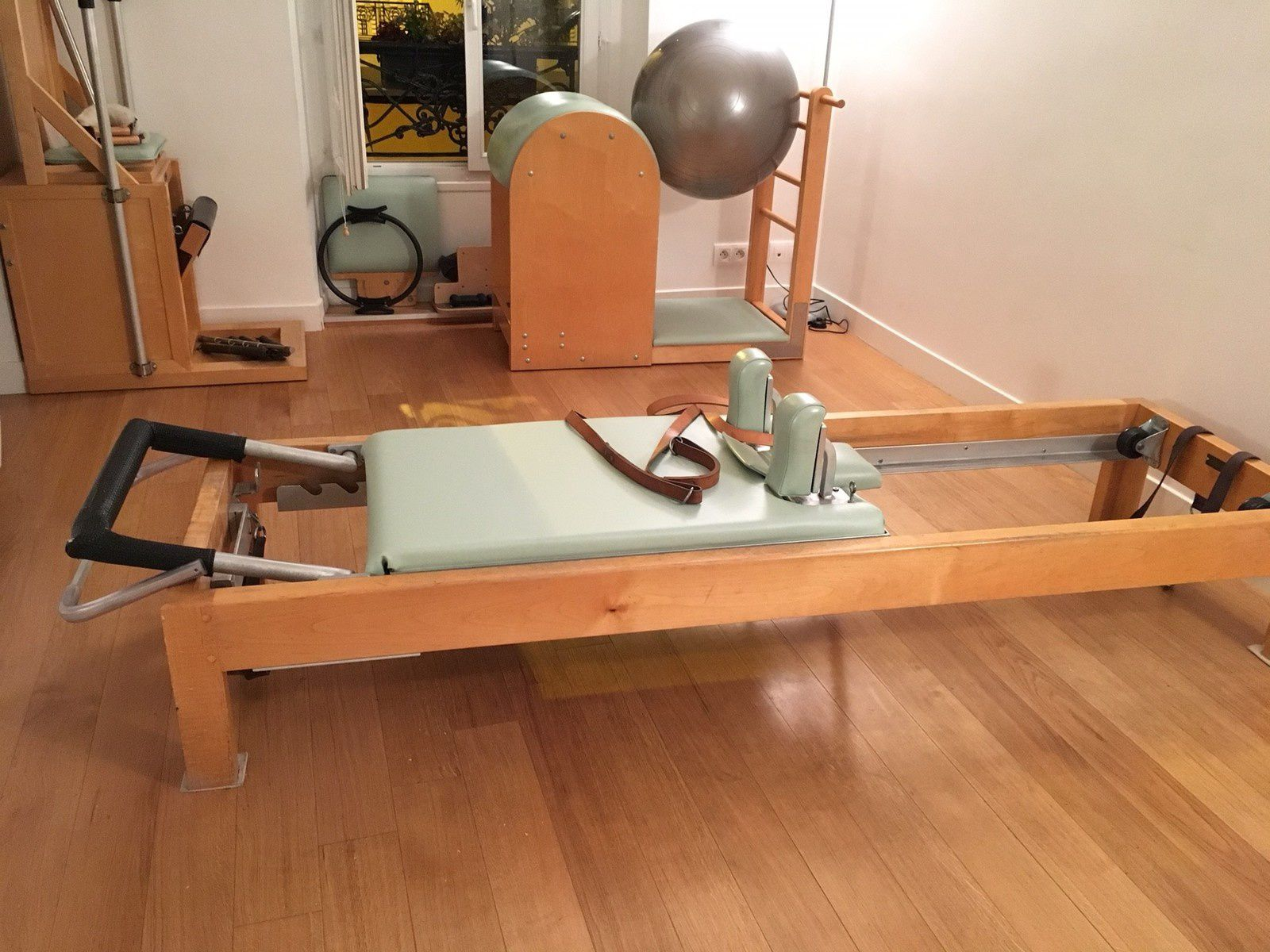 Reformer, La machine Pilates.