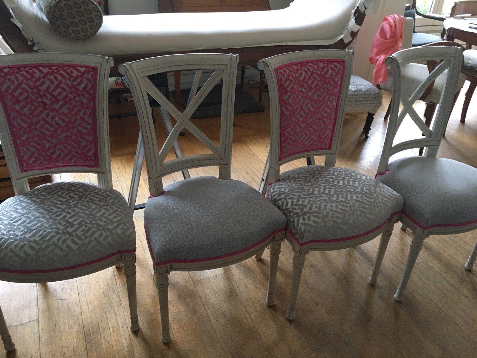 Transformation complète pour 4 chaises