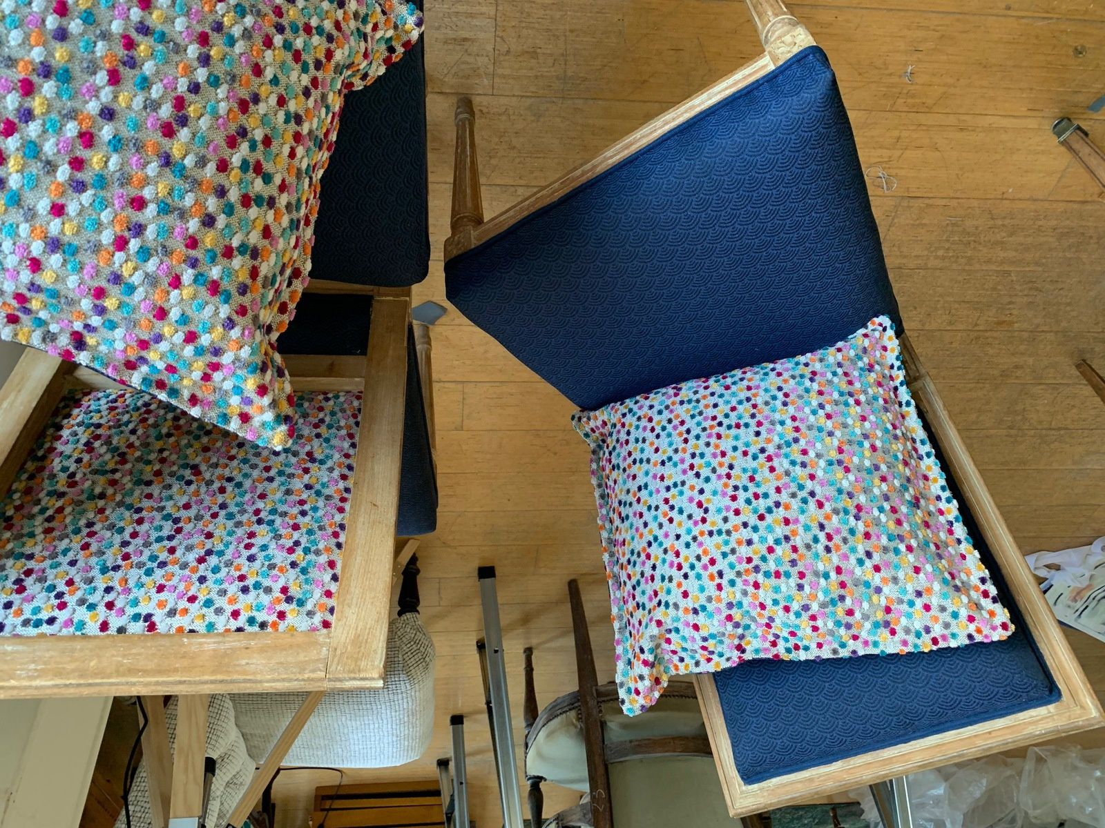 Chaises Smarties !