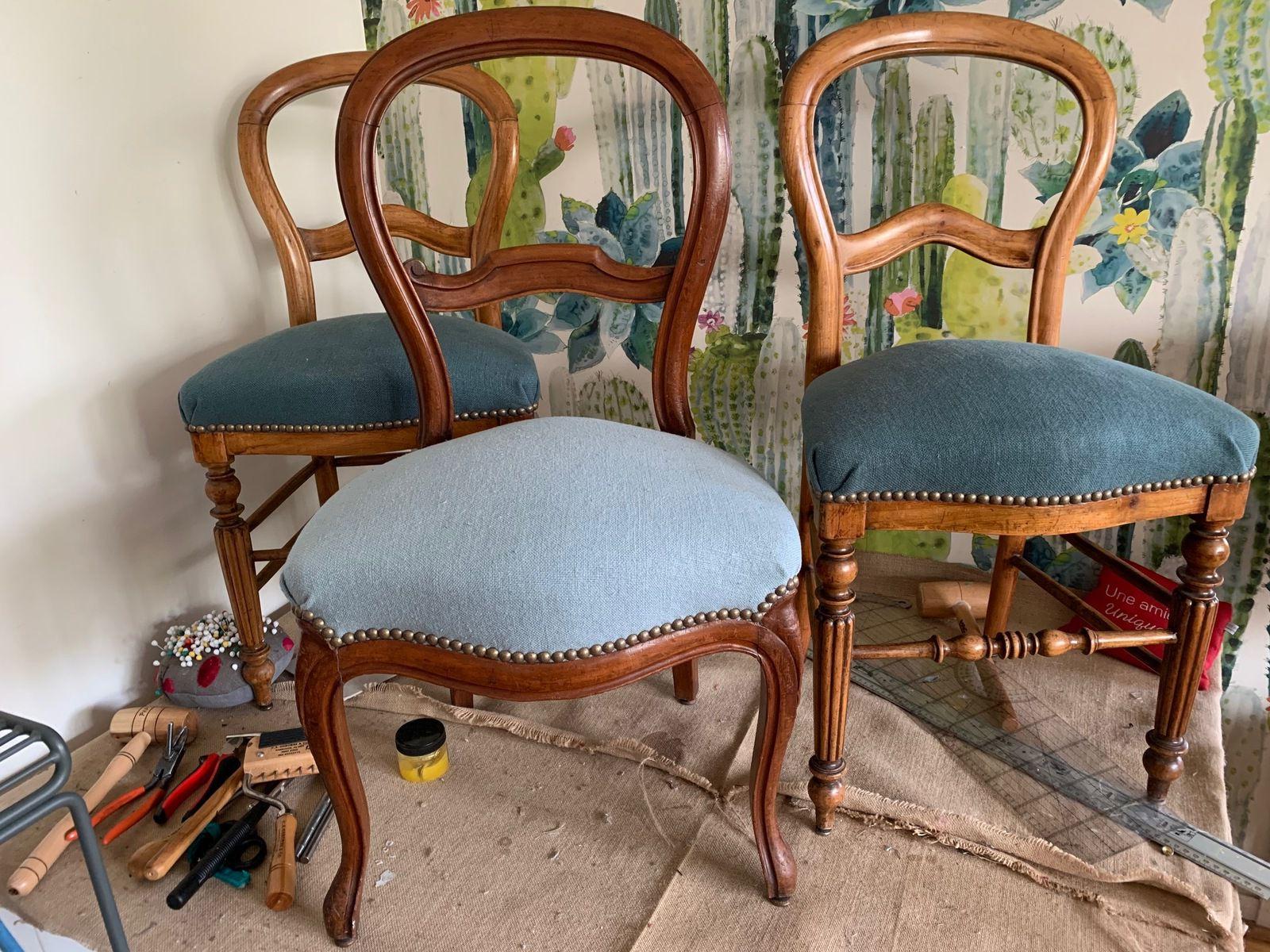 Et hop ... trois petites chaises