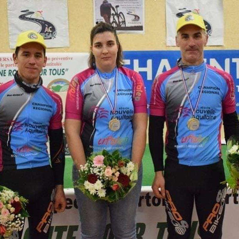 PHOTOS CHAMPIONNAT REGIONAL de cyclo-cross Poitou-Charentes Dimanche 13 Janvier 2019 16250 - PERIGNAC