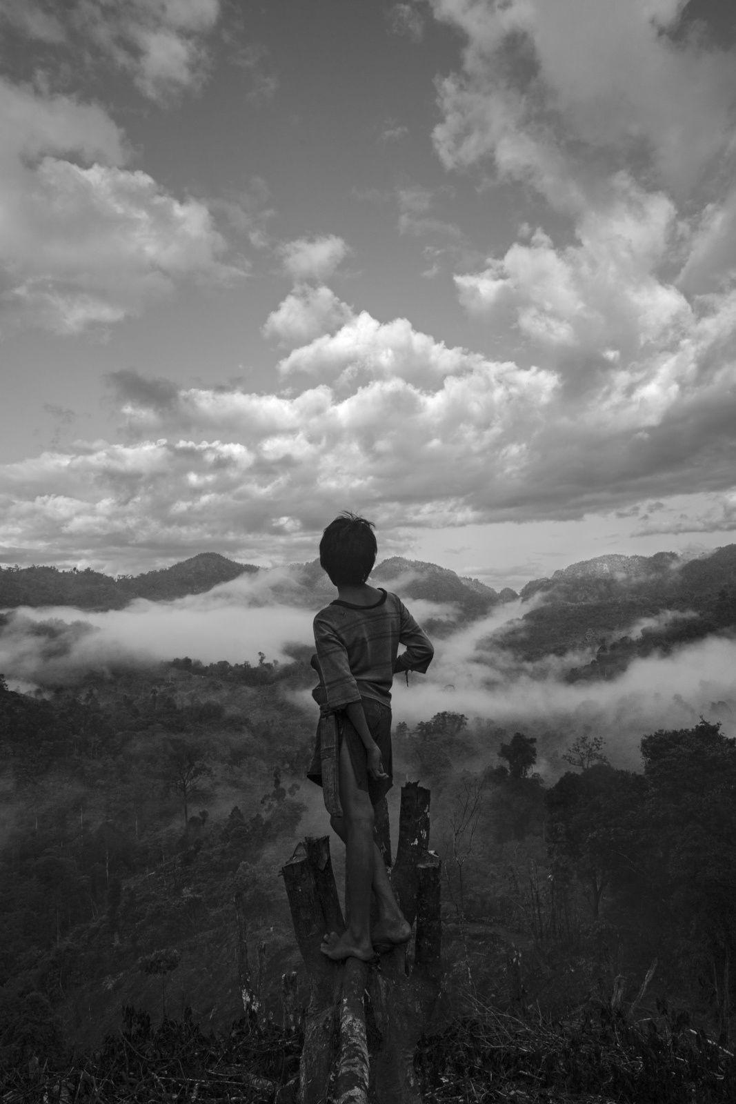 exposition photo Pierre de Vallombreuse - Musée de l'homme - Peuple Palawan