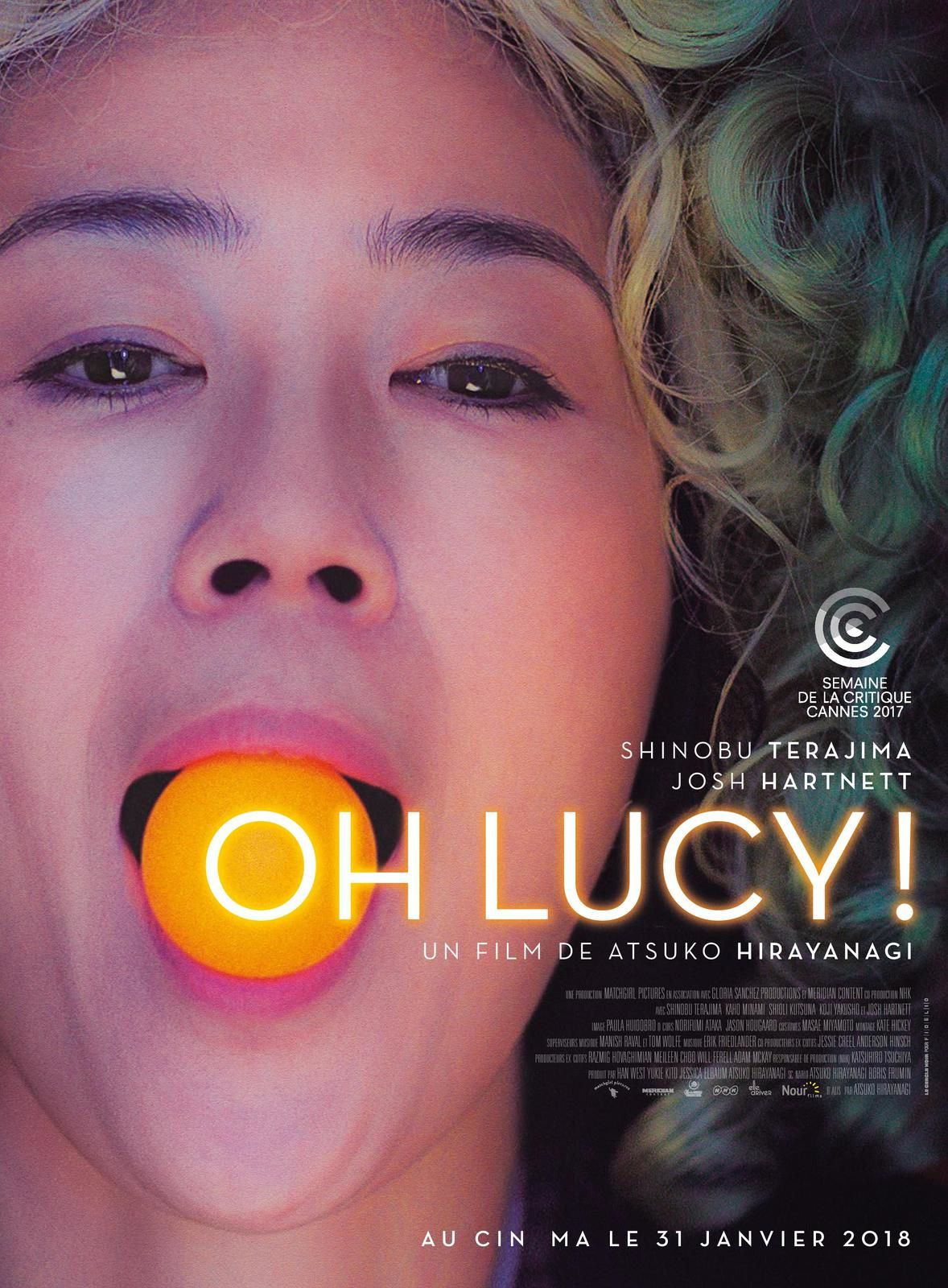 Film Oh Lucy affiche