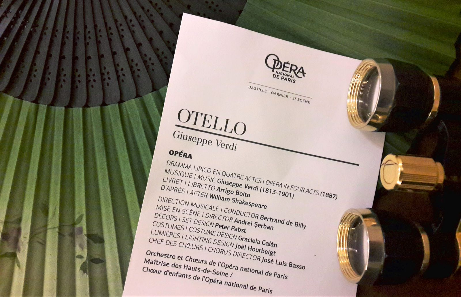 Otello de Verdi à L'opéra Bastille