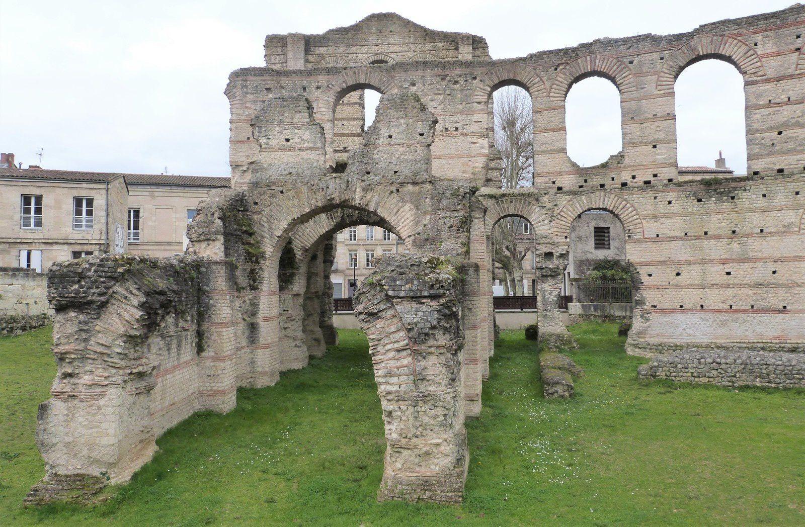 Amphithéâtre romain Bordeaux - Palais Galien