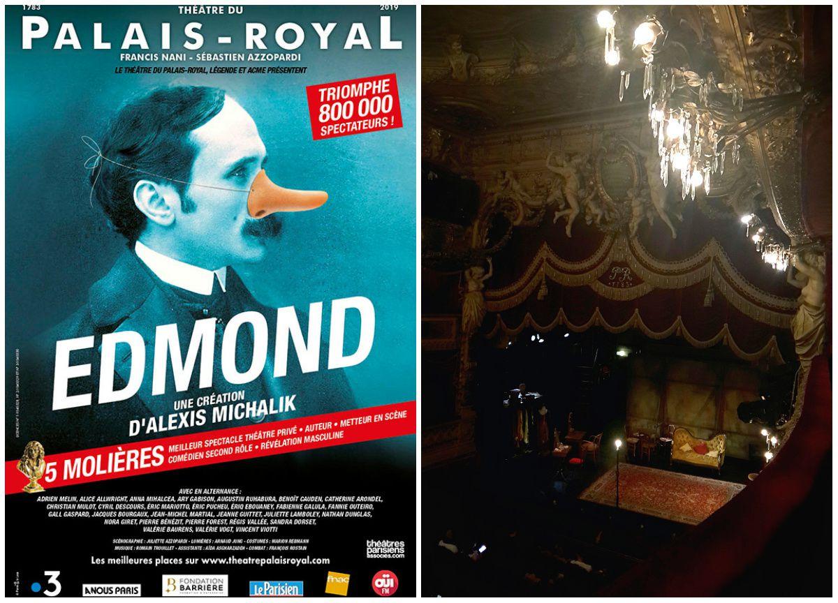 Affiche Edmond, Alexis Michalik Théâtre du Palais Royal