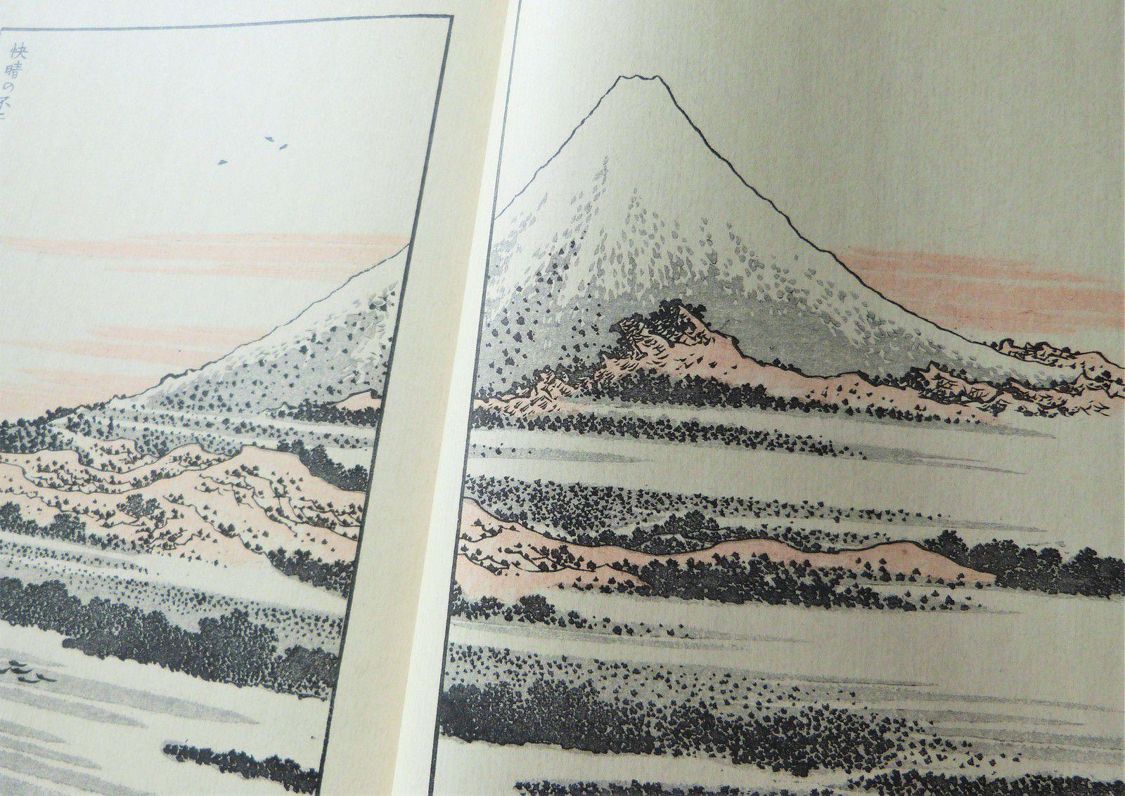 Hokusai - Cent vues du Mont Fuji  éditions Hazan