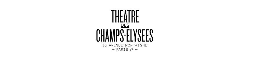 Logo théâtre des champs elysées TCE