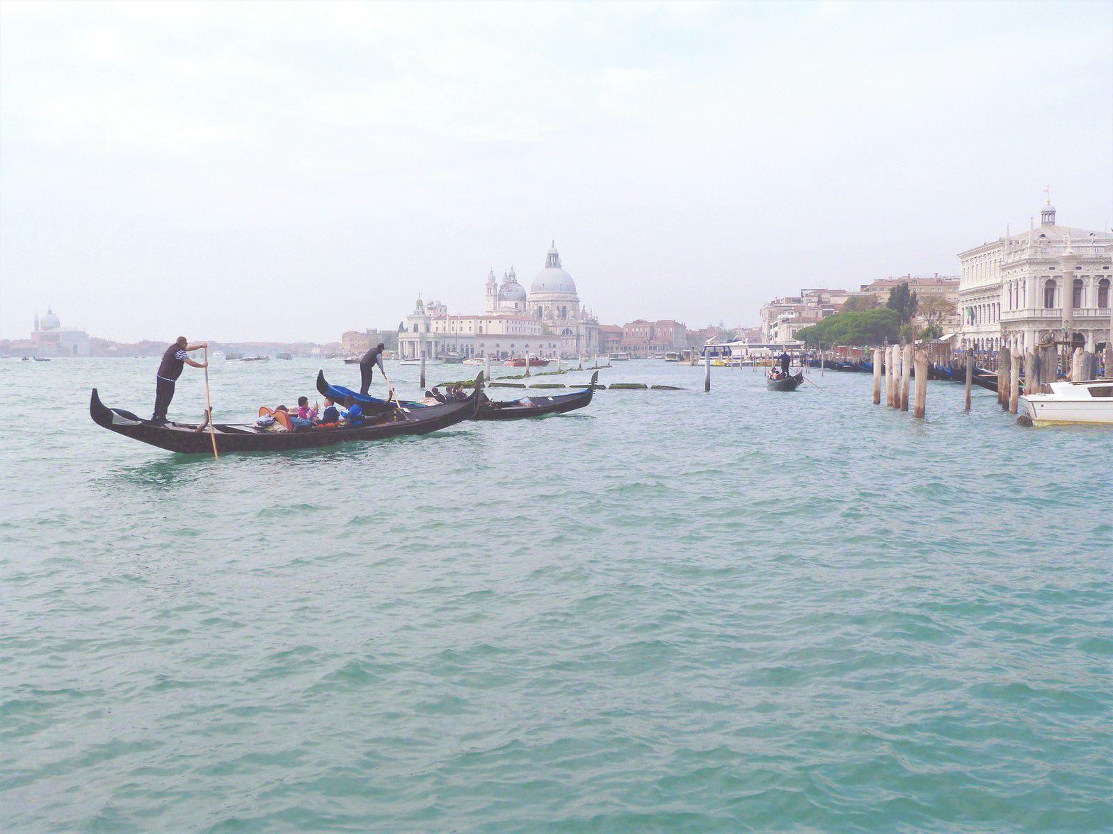 Venise, voyage, gondole