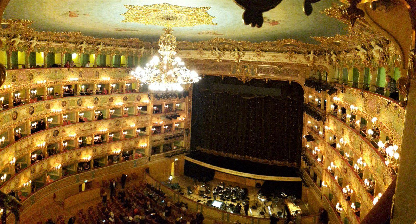 Venise, voyage, opéra la Fenice