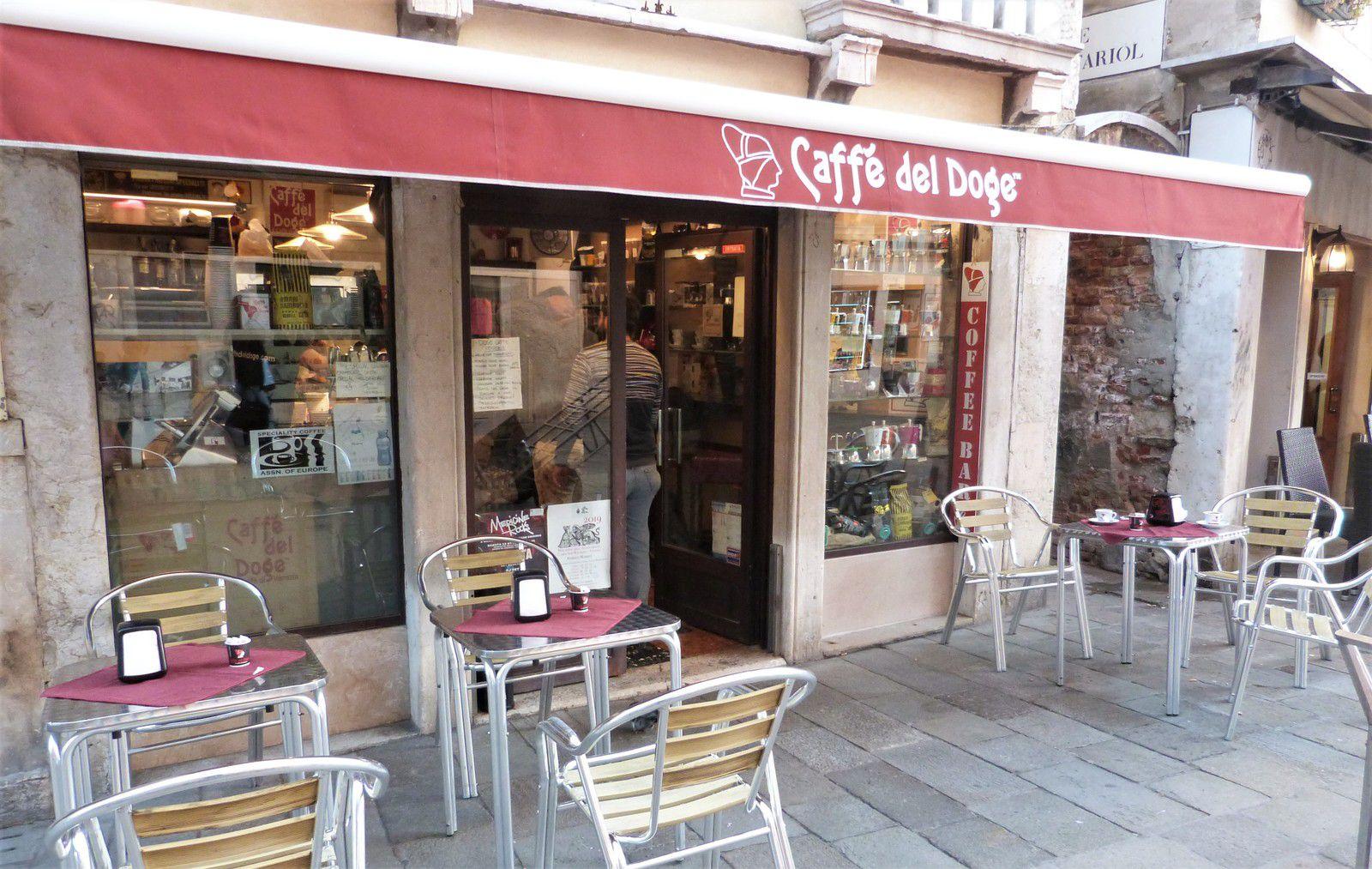 Venise, voyage, caffè del Doge, café