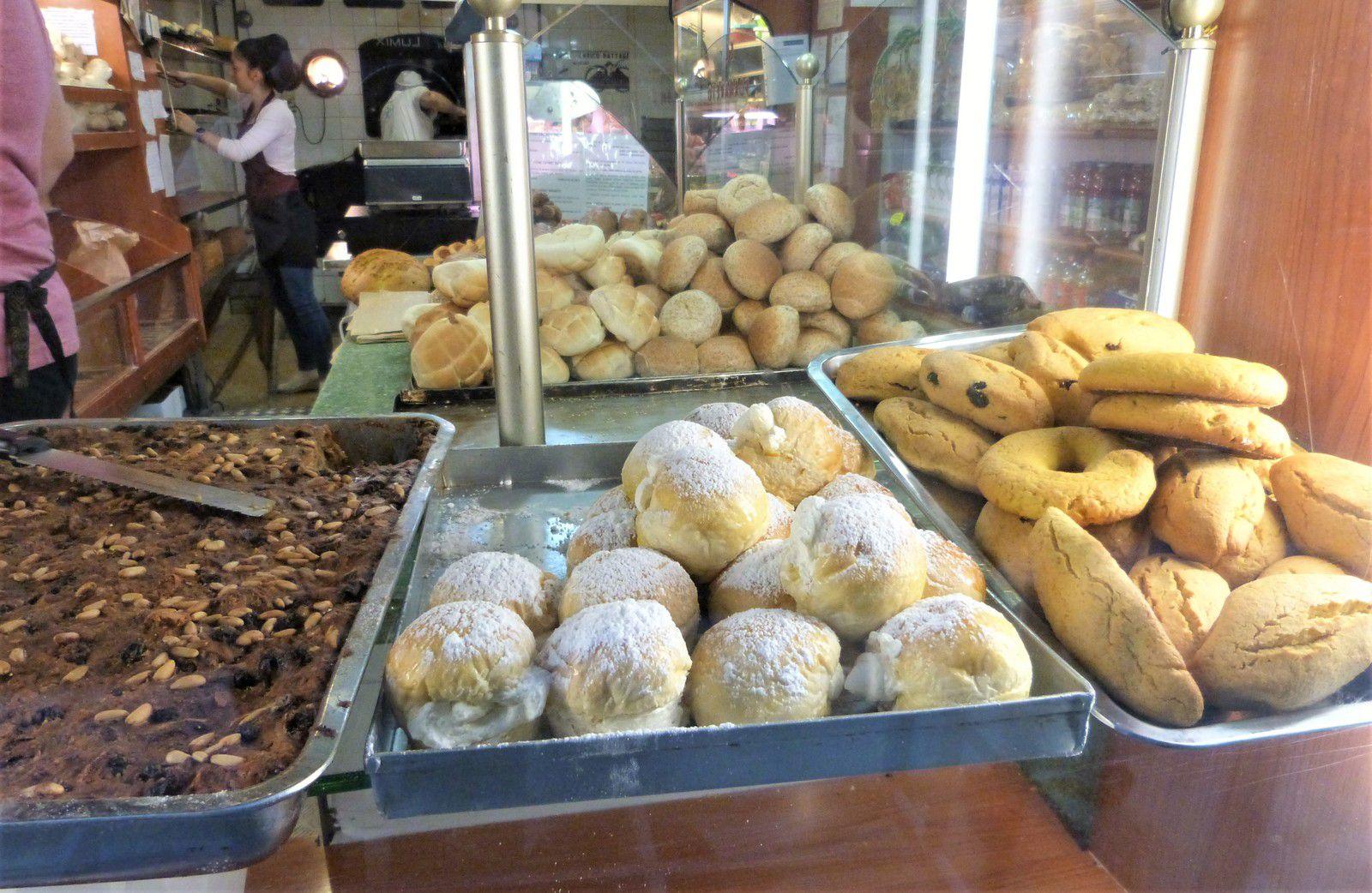 Venise, voyage, panificio el fornareto, boulangerie