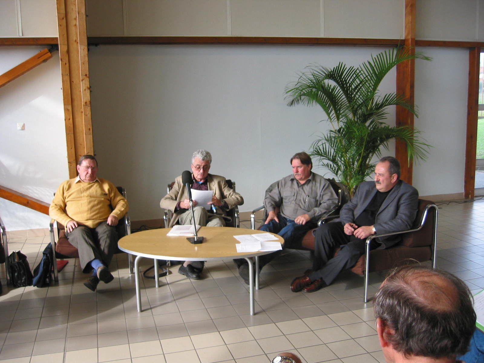 Une rencontre avec Louis et l'IHS métaux et les militants Rhones Alpes
