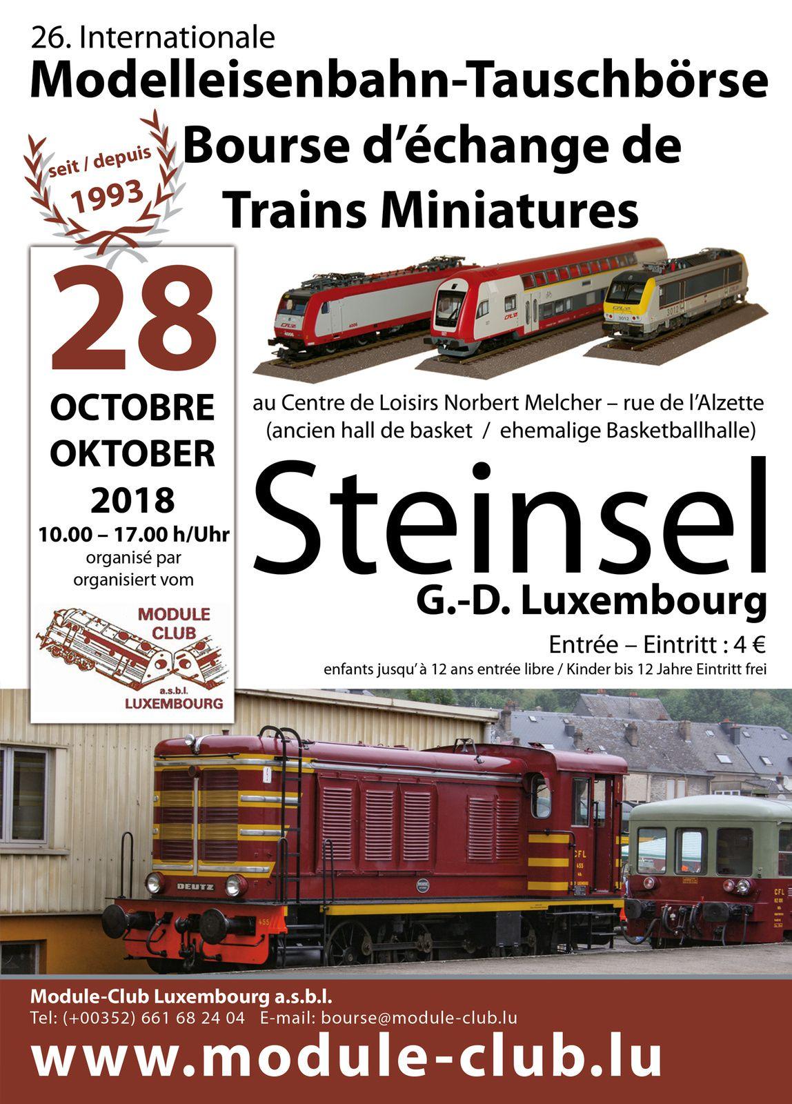 BOURSE D'ECHANGE DE TRAINS MINIATURES A STEINSEL LE 28.10.0218