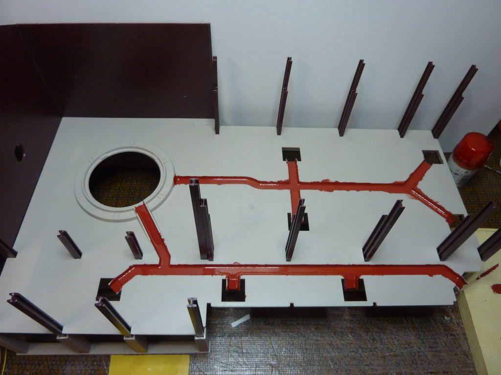 Construction d'un haut-fourneau (la suite)