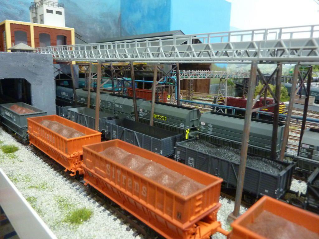 Installation de convoyeurs
