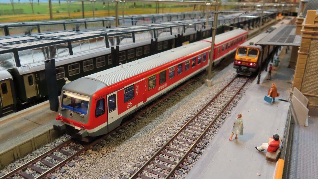 L'autorail DB 628 662-8 de Roco