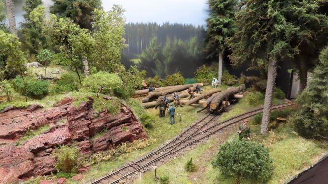Expo Trains à Junglinster (Lux)