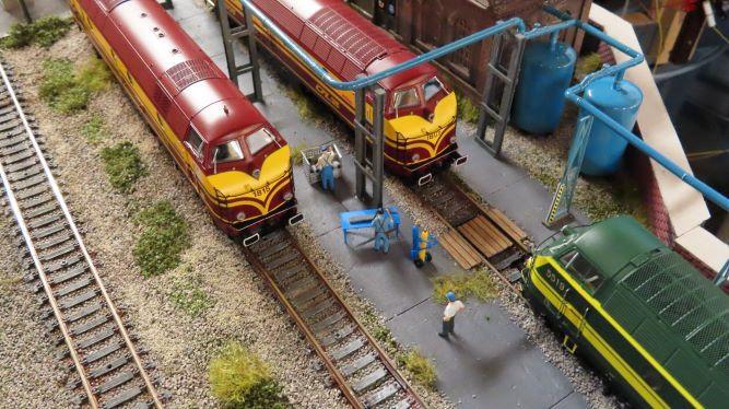 Quelques photos du dépôt de Raidange