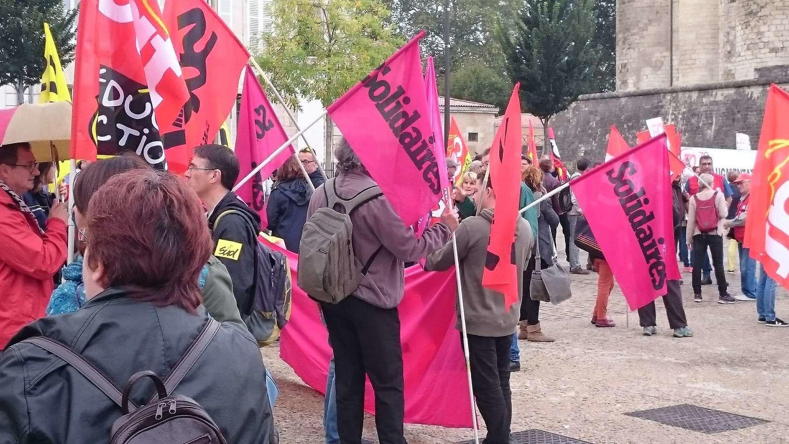 Unité syndicale dans la rue ce 10 octobre à Niort (et ailleurs)