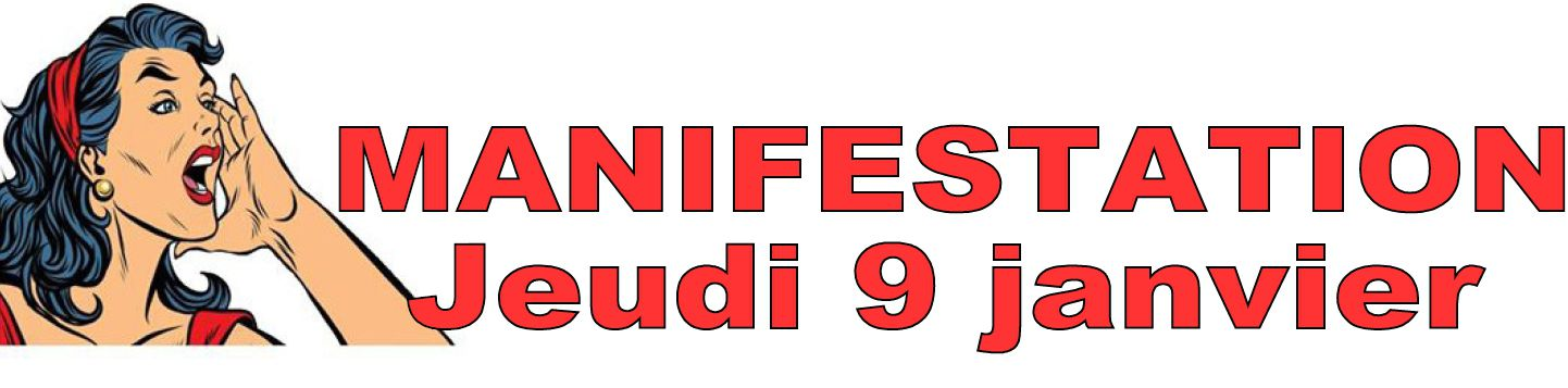 Retraites - Manifestations jeudi 9 janvier 2020 à Niort et ailleurs en Deux-Sèvres