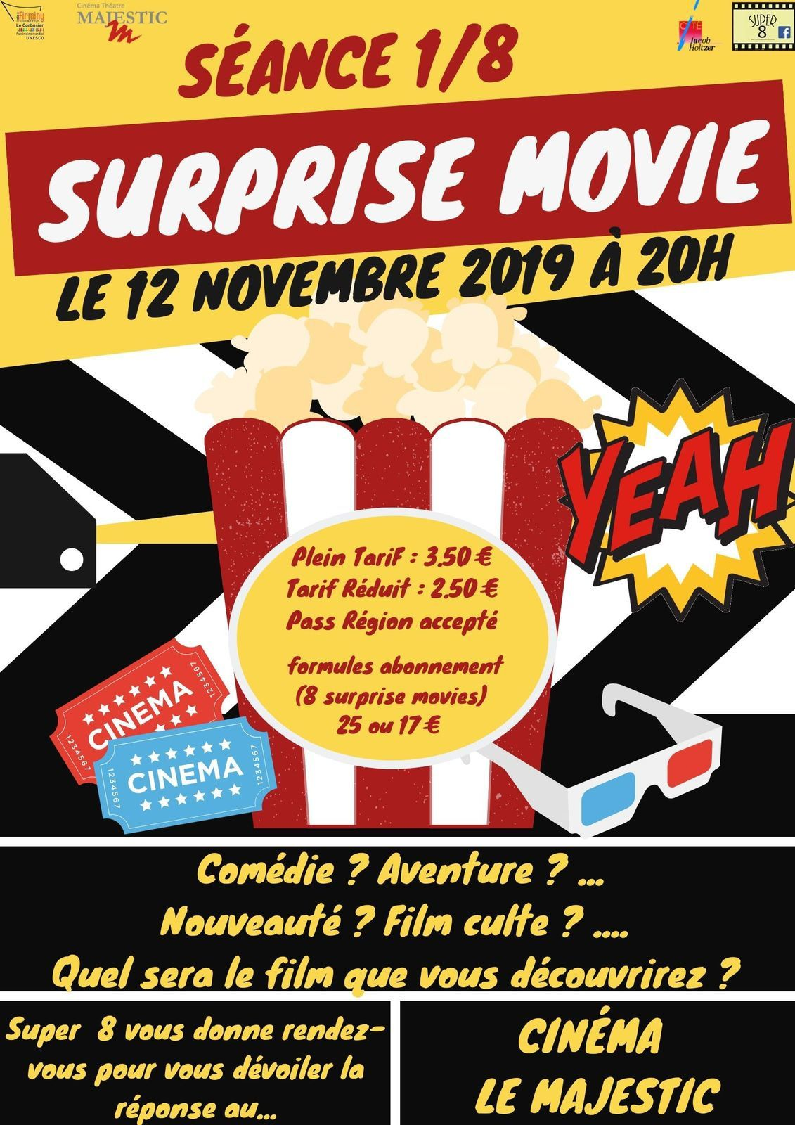 Surprise Movie : ça démarre le 12 novembre
