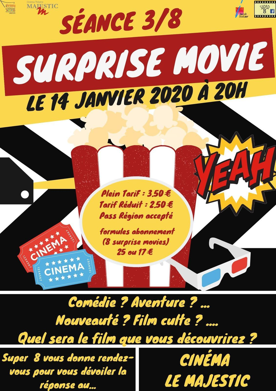 Surprise Movie 3/8 : les indices !