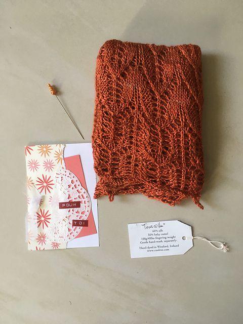 Sacré Coeur shawl