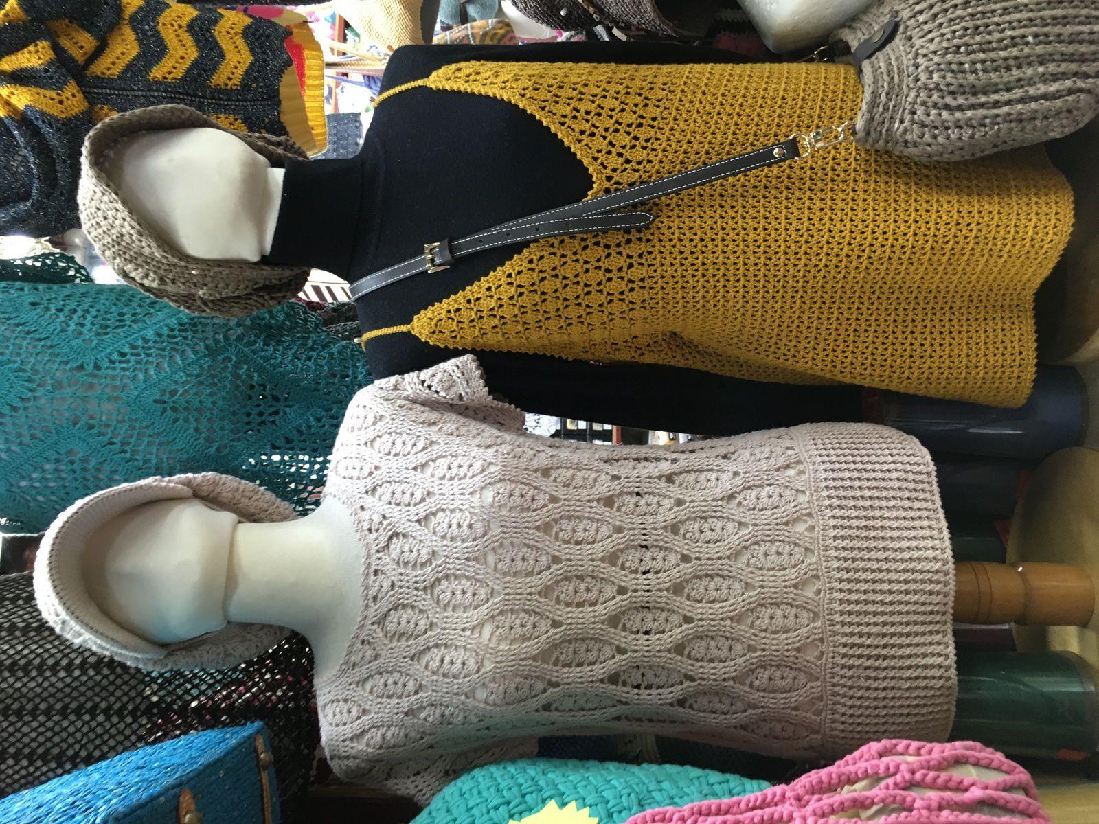 Laine à Séoul : Dongdaemum Market or yarn in Seoul