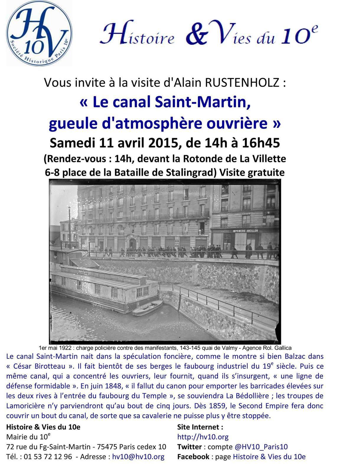 Découvrez le Canal Saint-Martin