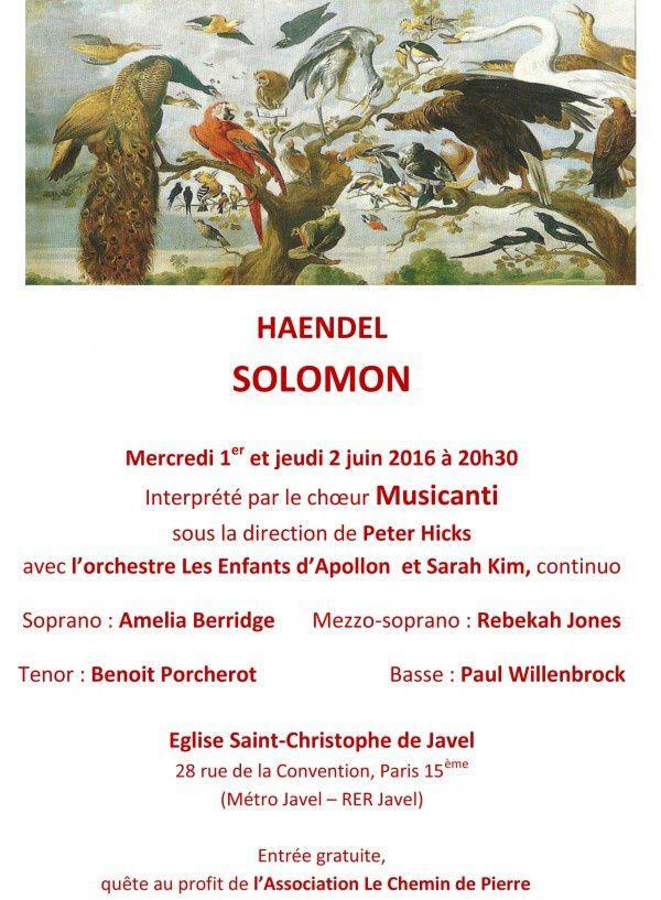 Concert en l'église Saint-Christophe-de-Javel