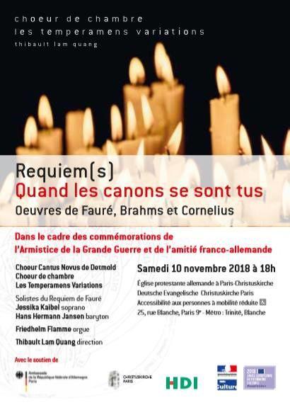 Concert à la Christuskirche Paris