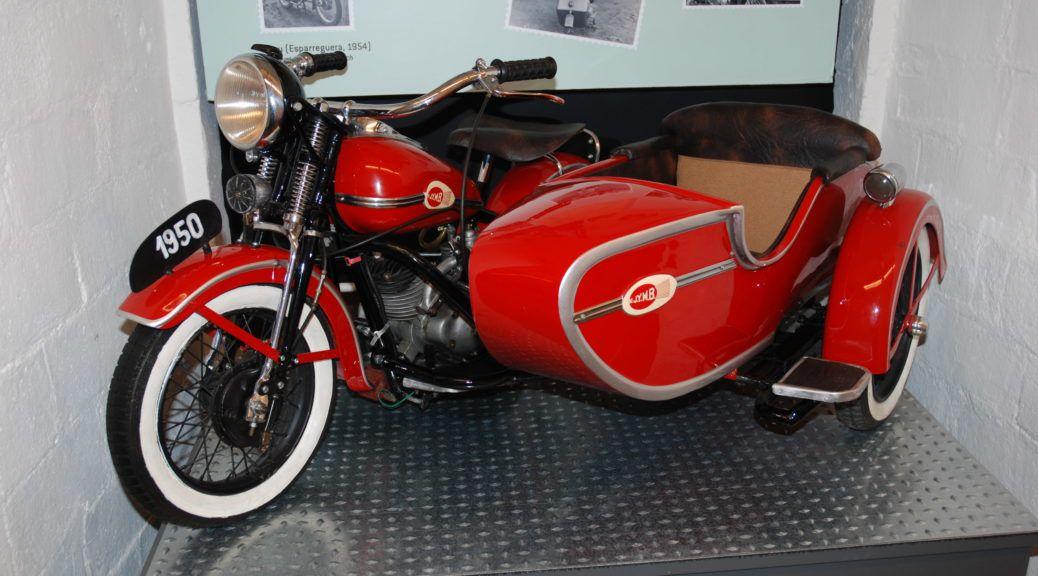 The spanish Harley Davidson Side Car By Hervé