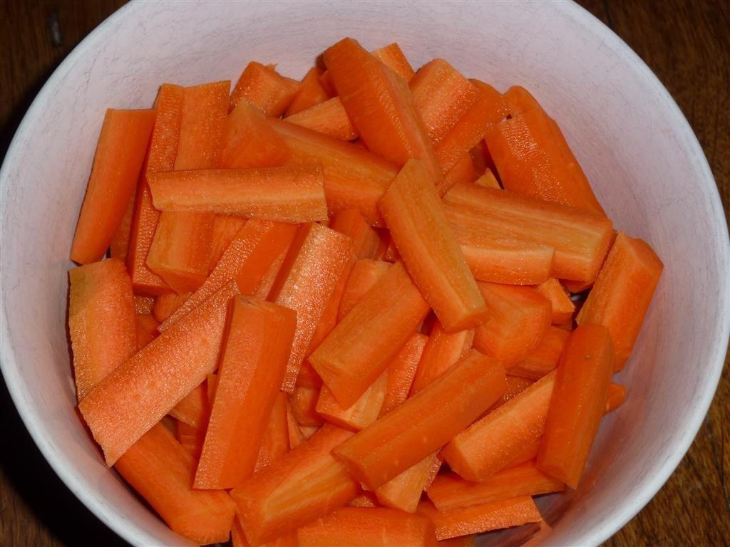 Joues de porc aux carottes et citron confit PAS à PAS