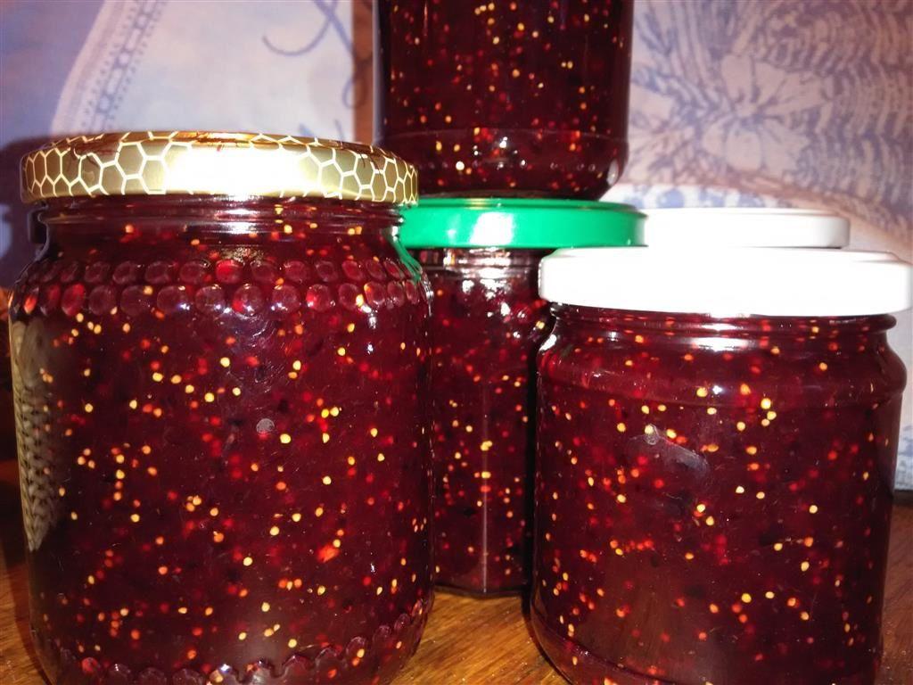 Confiture de figues et de prunes aux épices