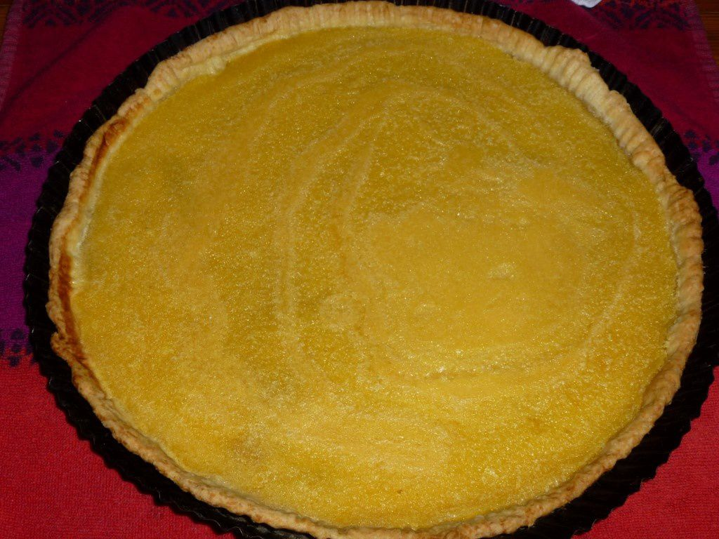 Tarte au citron sans meringue