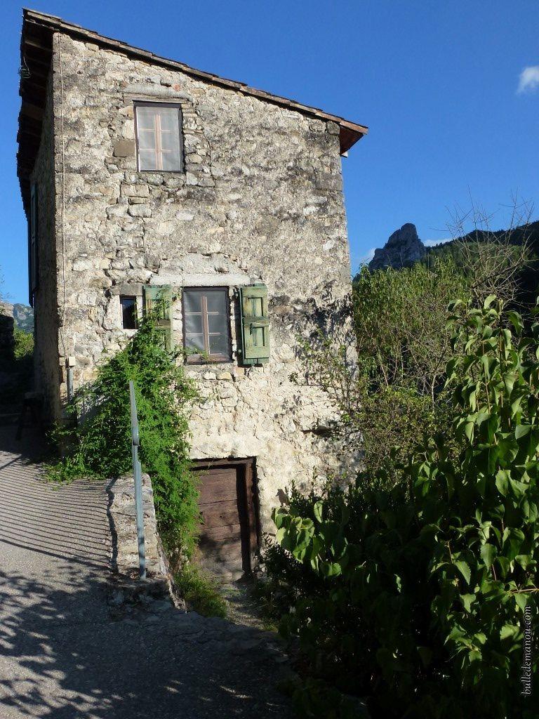La plus haute maison du village